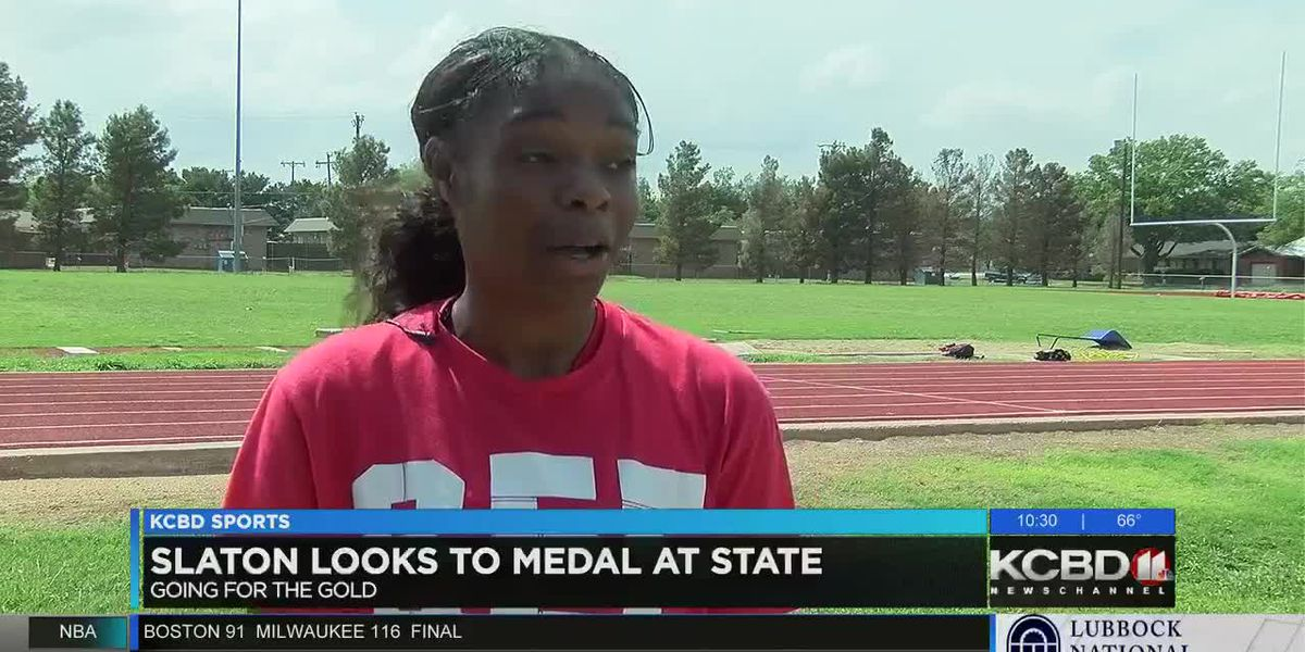 Slaton track athlete going to state in five different events