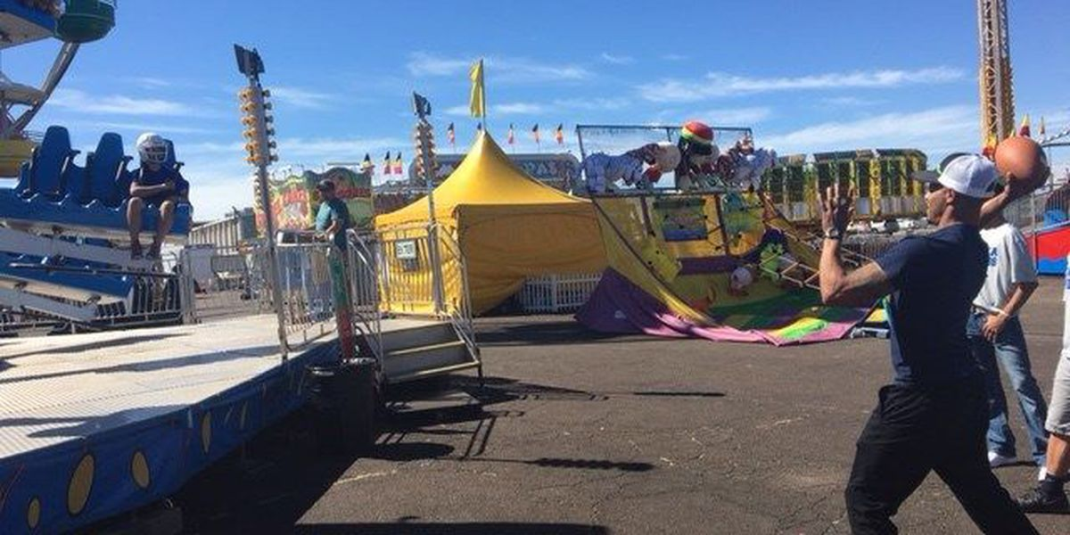 I Beat Pete: Mega Bounce Fair Challenge vs. Tahoka Football
