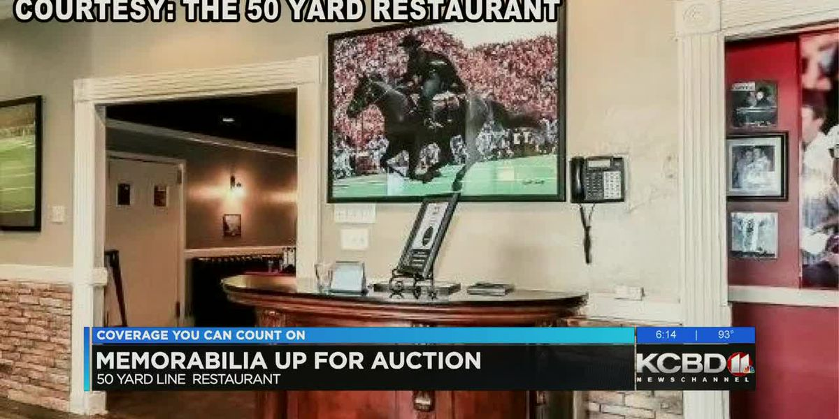 Lubbock's 50 Yard Line Restaurant auctioning off items after closing