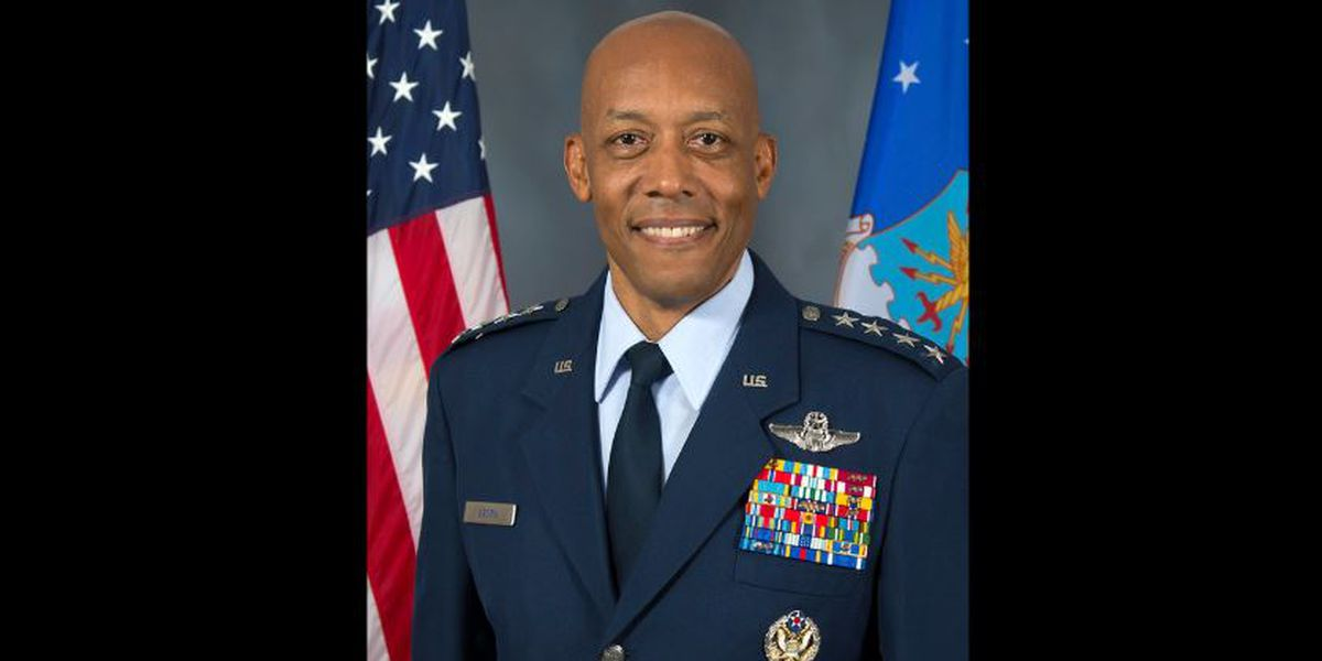 Red Raider alum nominated to be next Air Force Chief of Staff