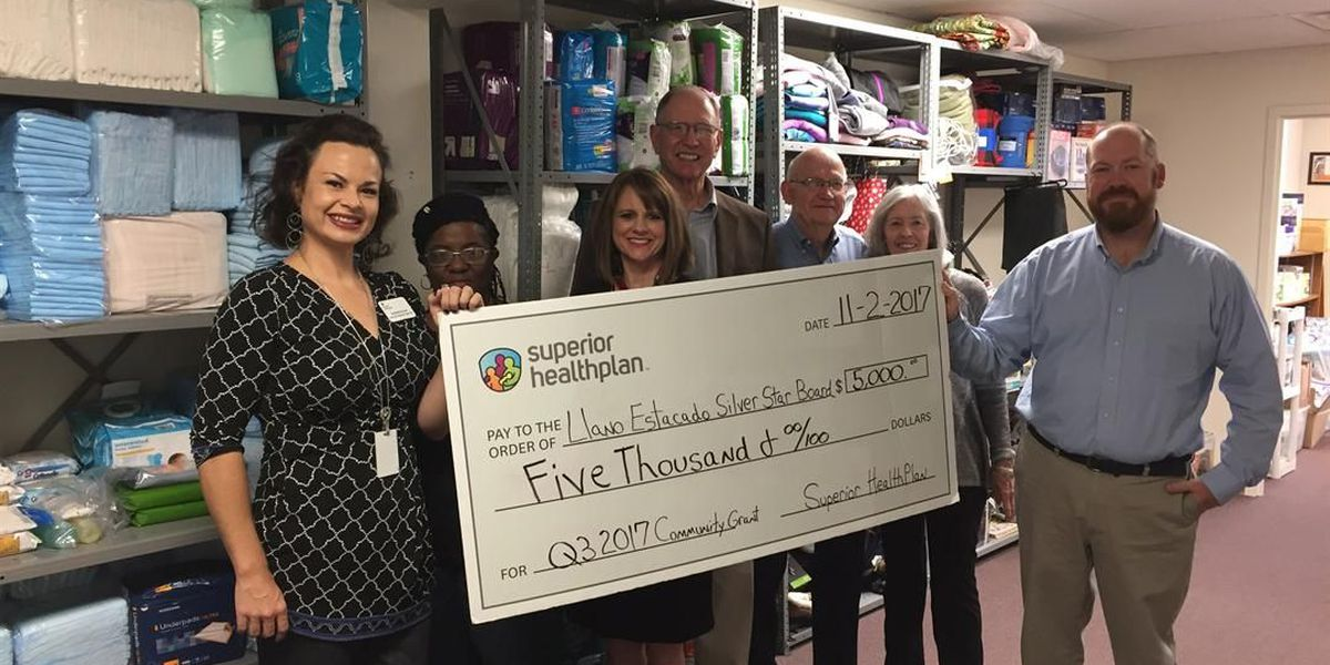 Lubbock non-profit supports victims of elder abuse, awarded $5,000 grant