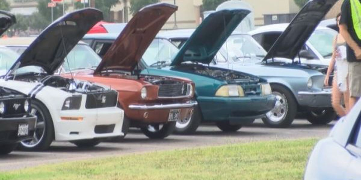 Lubbock Mustang Club to donate thousands from annual car show