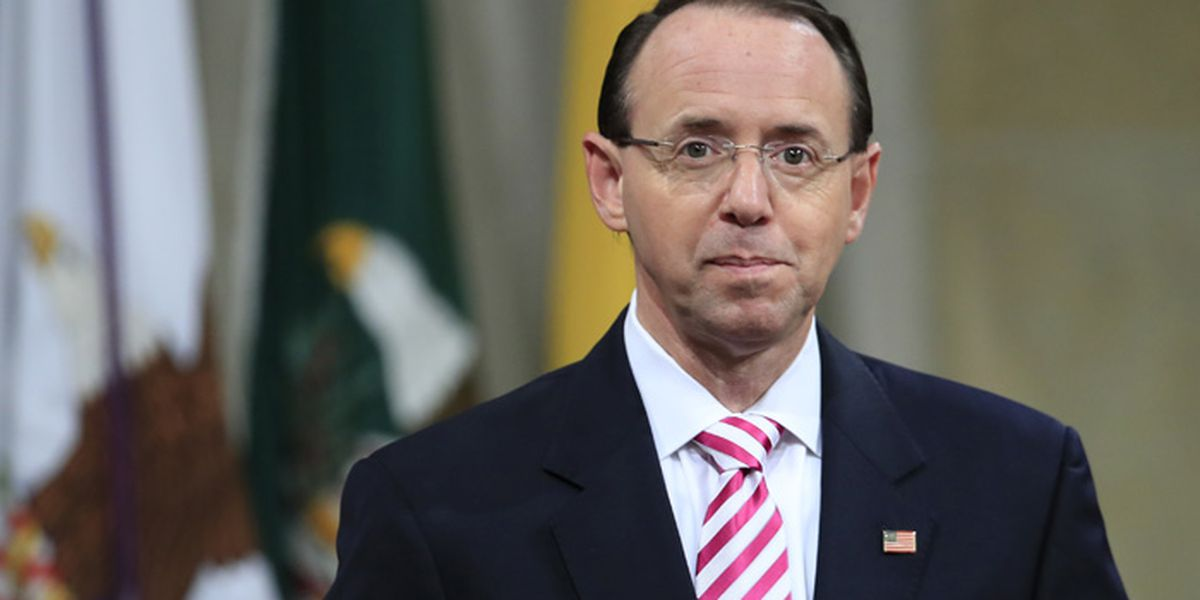 Still employed, Rod Rosenstein to meet with Trump Thursday