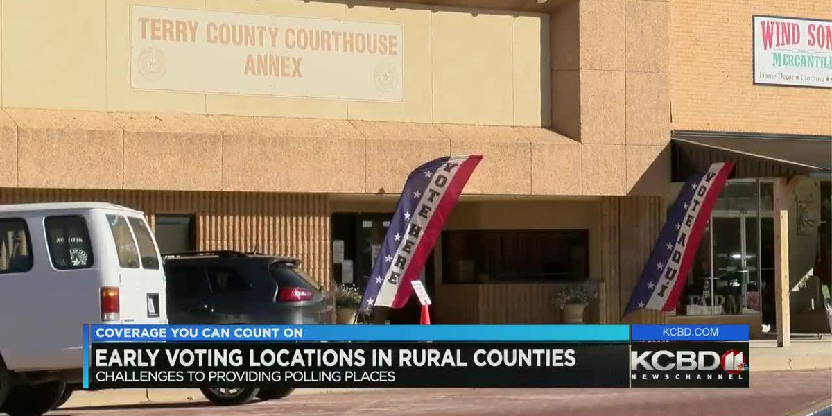 High turnout reported among rural South Plains voters despite lack of polling places