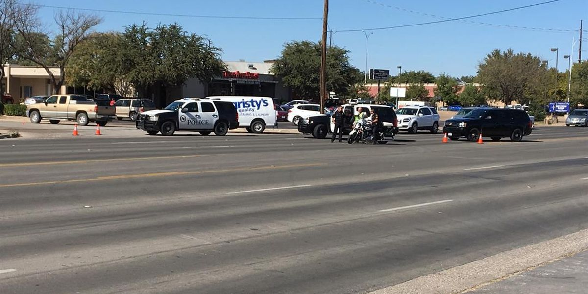 Lanes closed on southbound Indiana Ave. after motorcycle crash