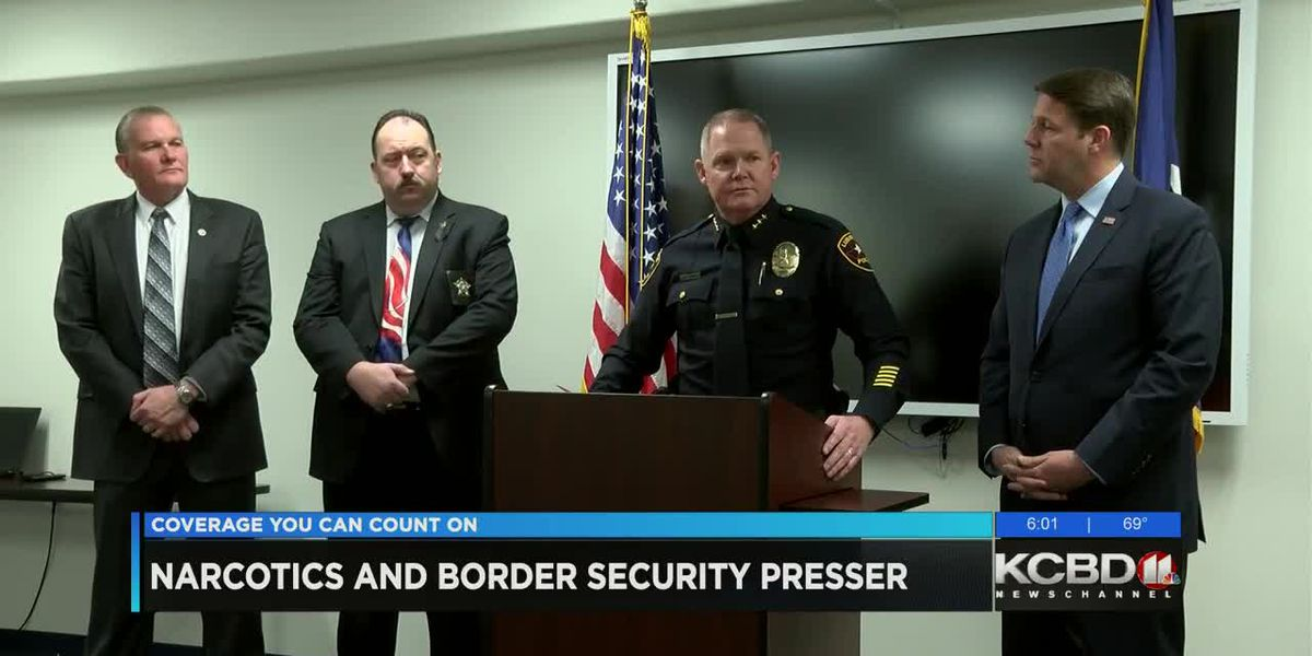 Lubbock law enforcement agencies discuss border security, narcotics