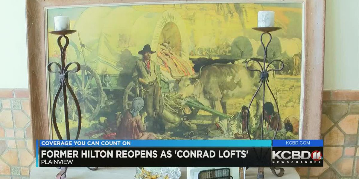 Conrad Lofts in Plainview finalist for Texas Downtown Association President's Award