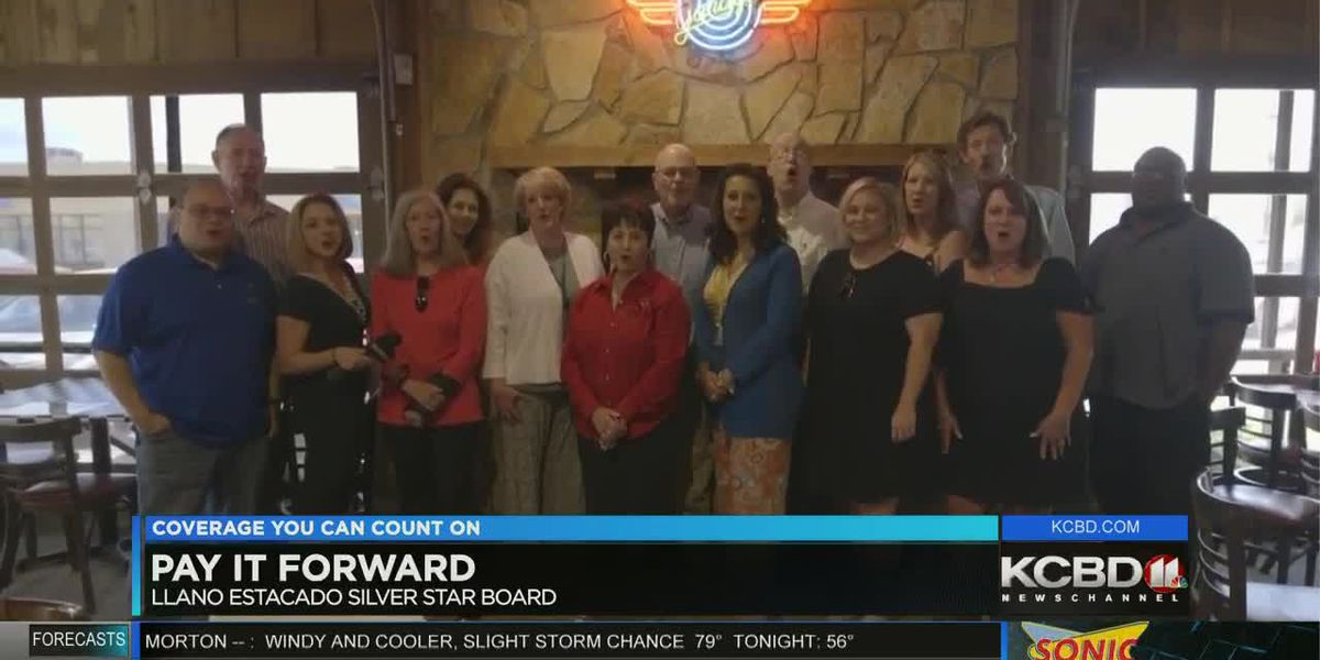 Pay It Forward: Surprise at lunch for the Llano Estacado Silver Star Board
