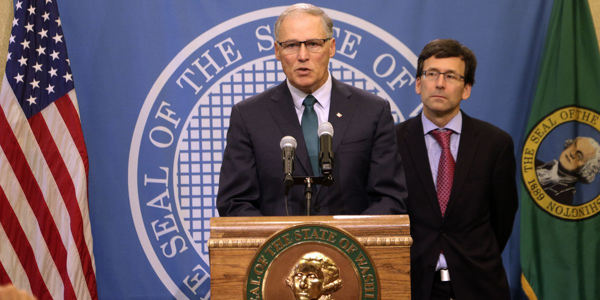 Washington Gov. Inslee running for president