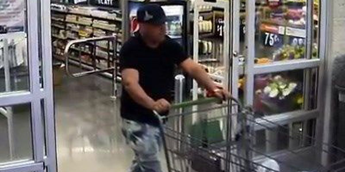 LPD VIDEO: Police searching for suspect accused of using cloned credit cards