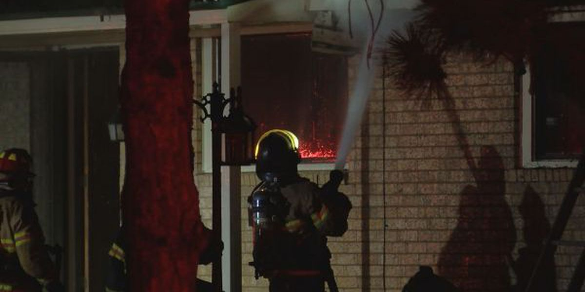 Fire damages home in northwest Lubbock County