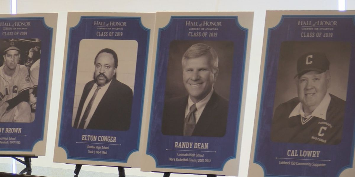 Lubbock ISD announces 2019 Athletic Hall of Honor Class