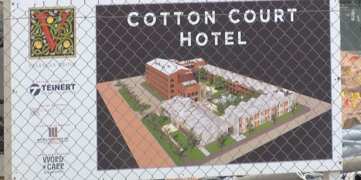 Unique hotel coming to Lubbock pays homage to cotton and music