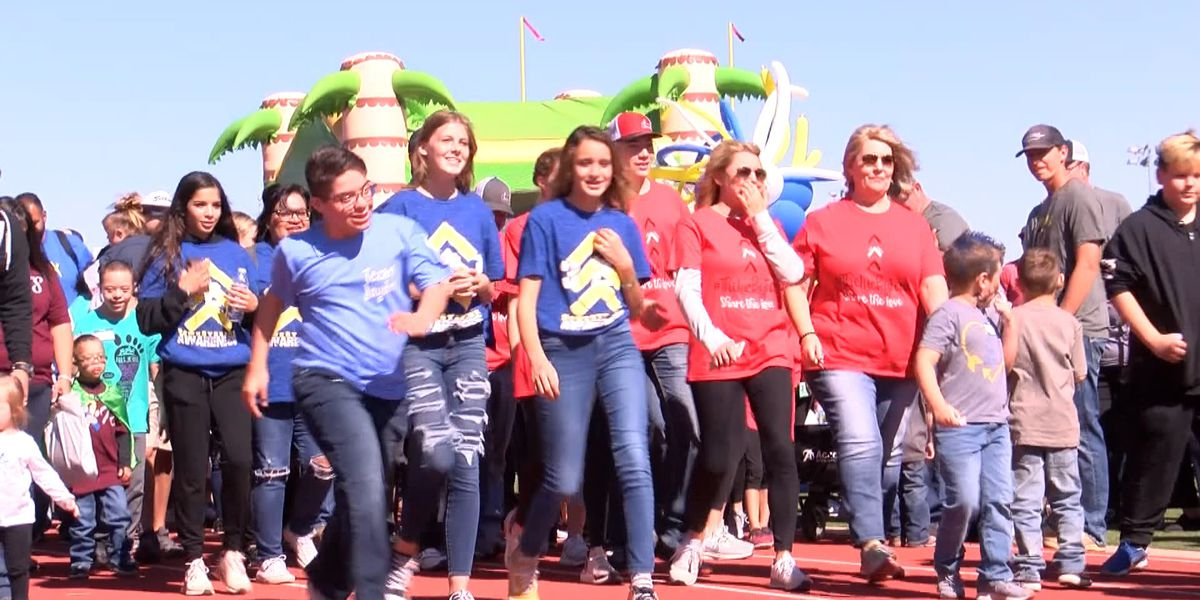 Lubbock families find support at BUDS Buddy Walk for Down Syndrome