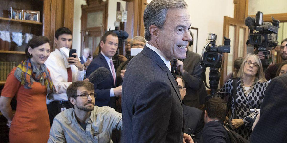 Texas House Speaker Joe Straus says he will not seek re-election