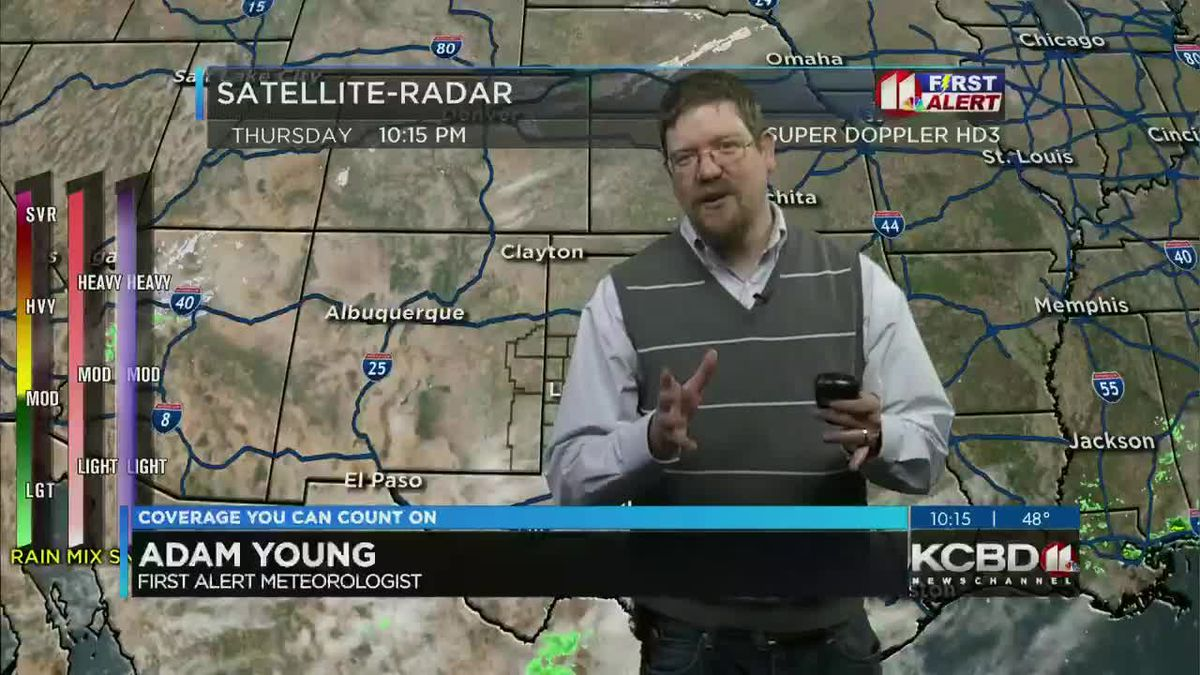 Temps below freezing expected Friday morning