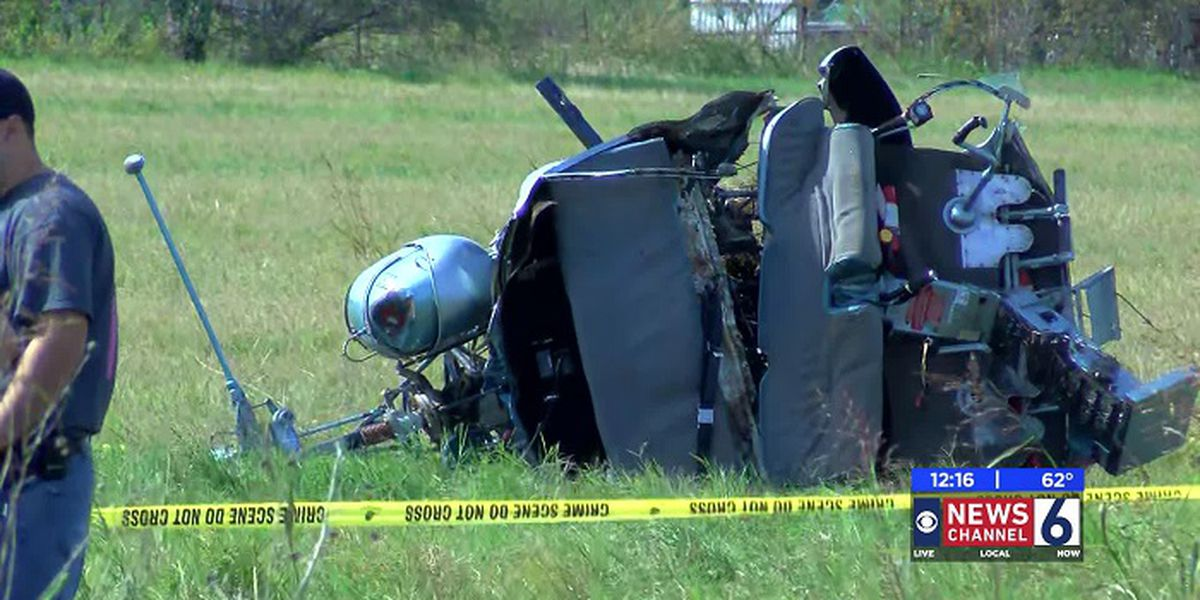 2 men rushed to hospital following helicopter crash near Iowa Park