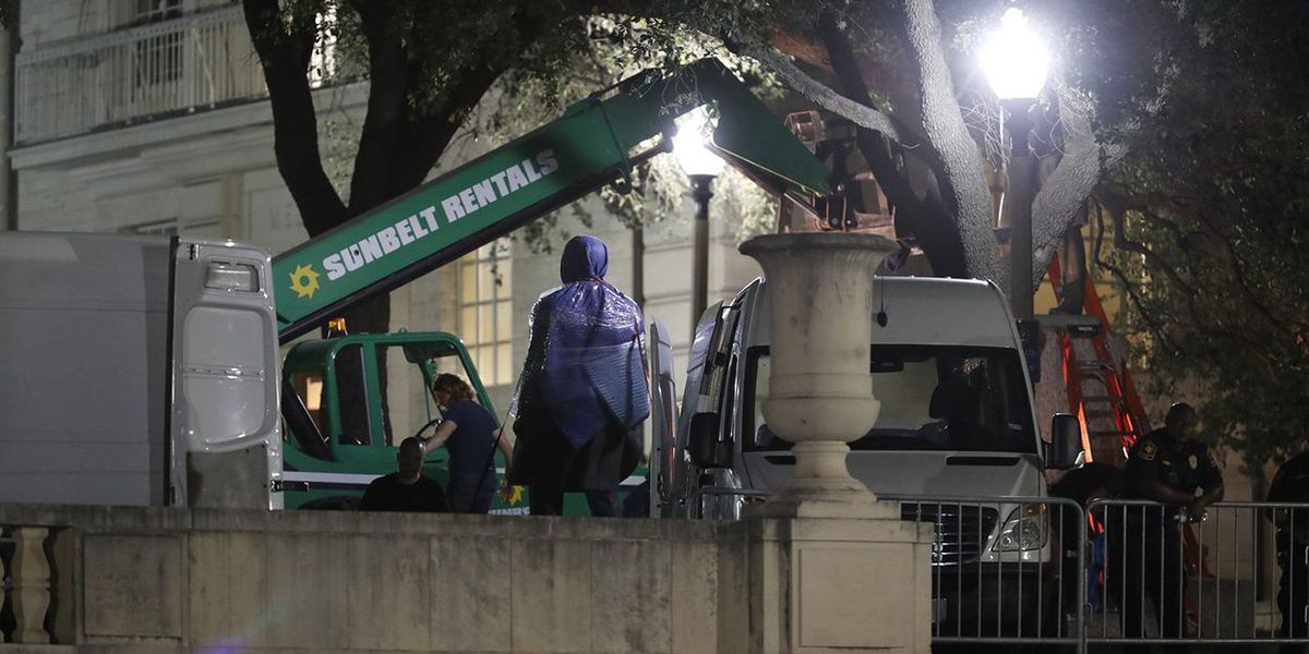 UT-Austin removes Confederate statues in the middle of the night